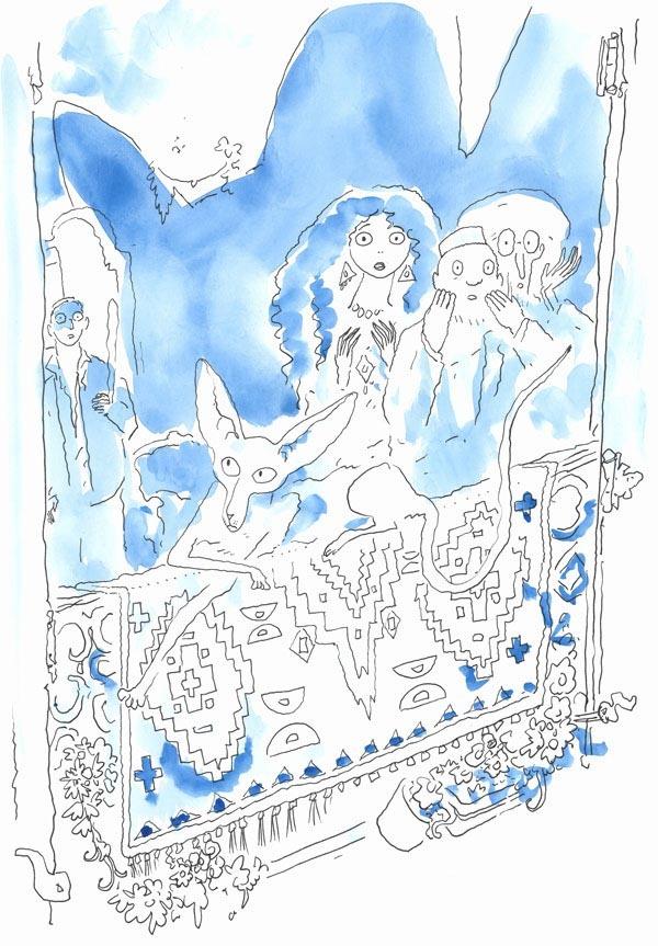 27 Sfar Katze Skizze 1