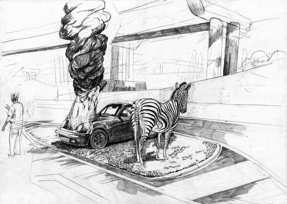 00 Fischer Traum Porsche Zebra Hintergrund Bearbeitet