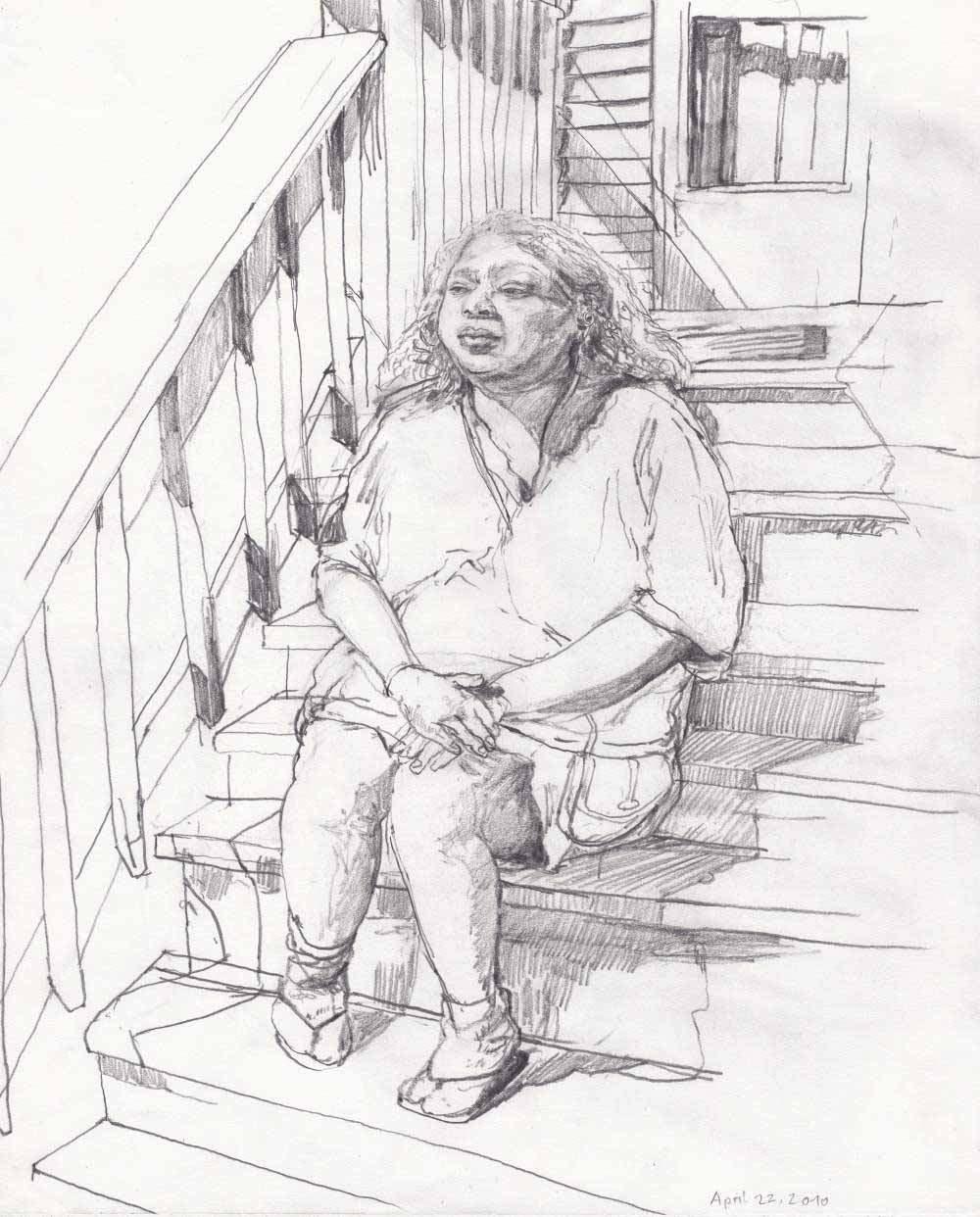 14 Fischer Grandma Rosie Hintergrund Bearbeitet