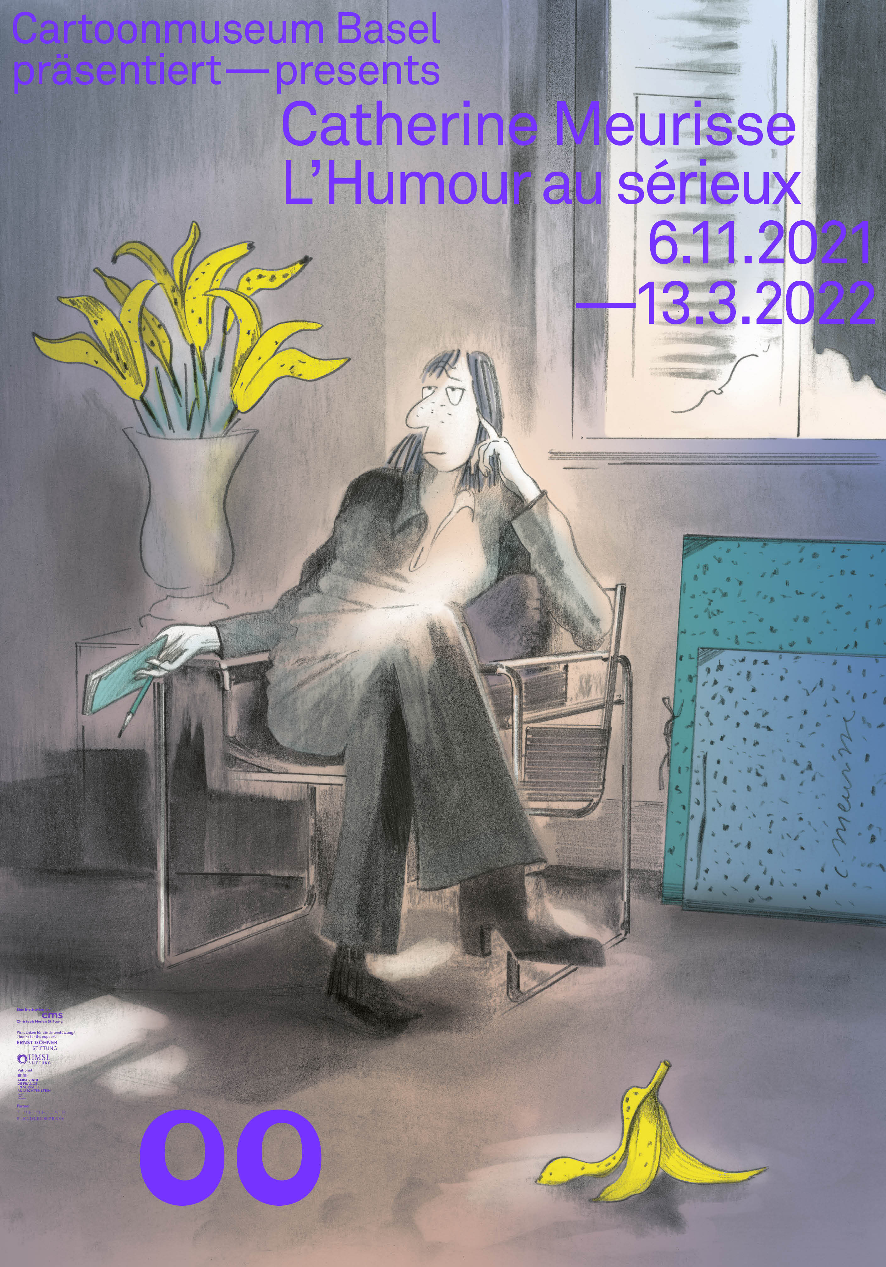 210930 Cartoon Catherine Meurisse Plakat F4 RZ low