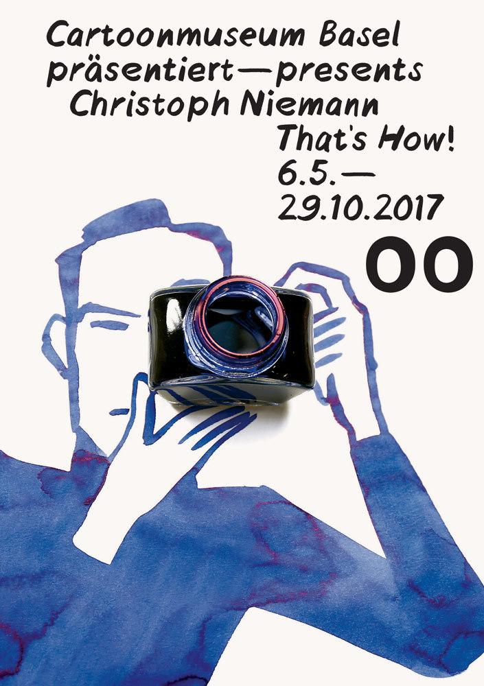 Ausstellungsplakat Christoph Niemann Web