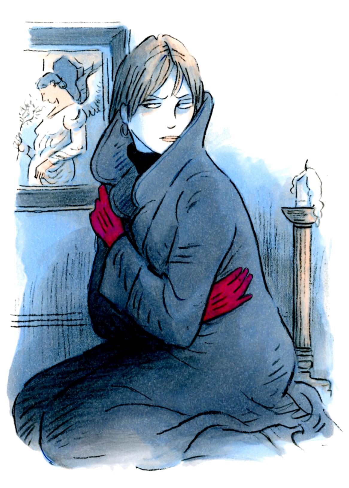 Gemma In Coat