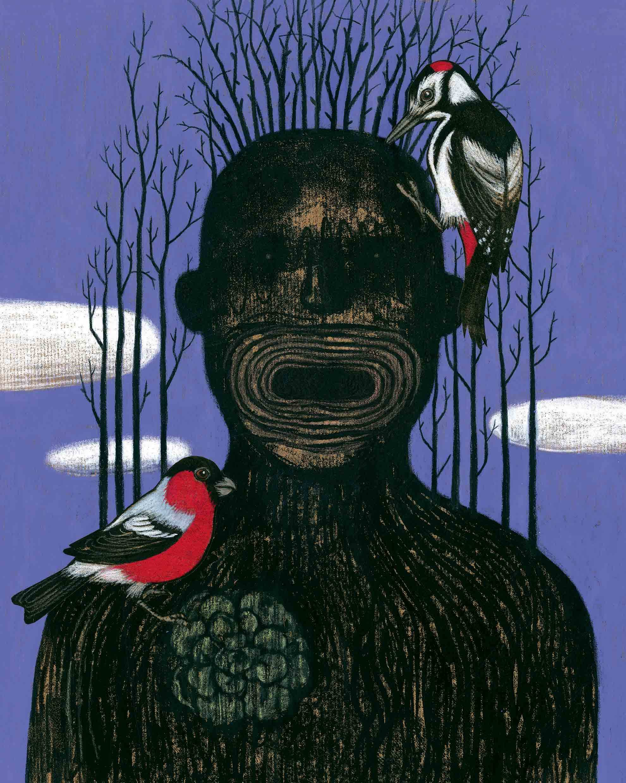 Tirabosco Treeman Portrait Web