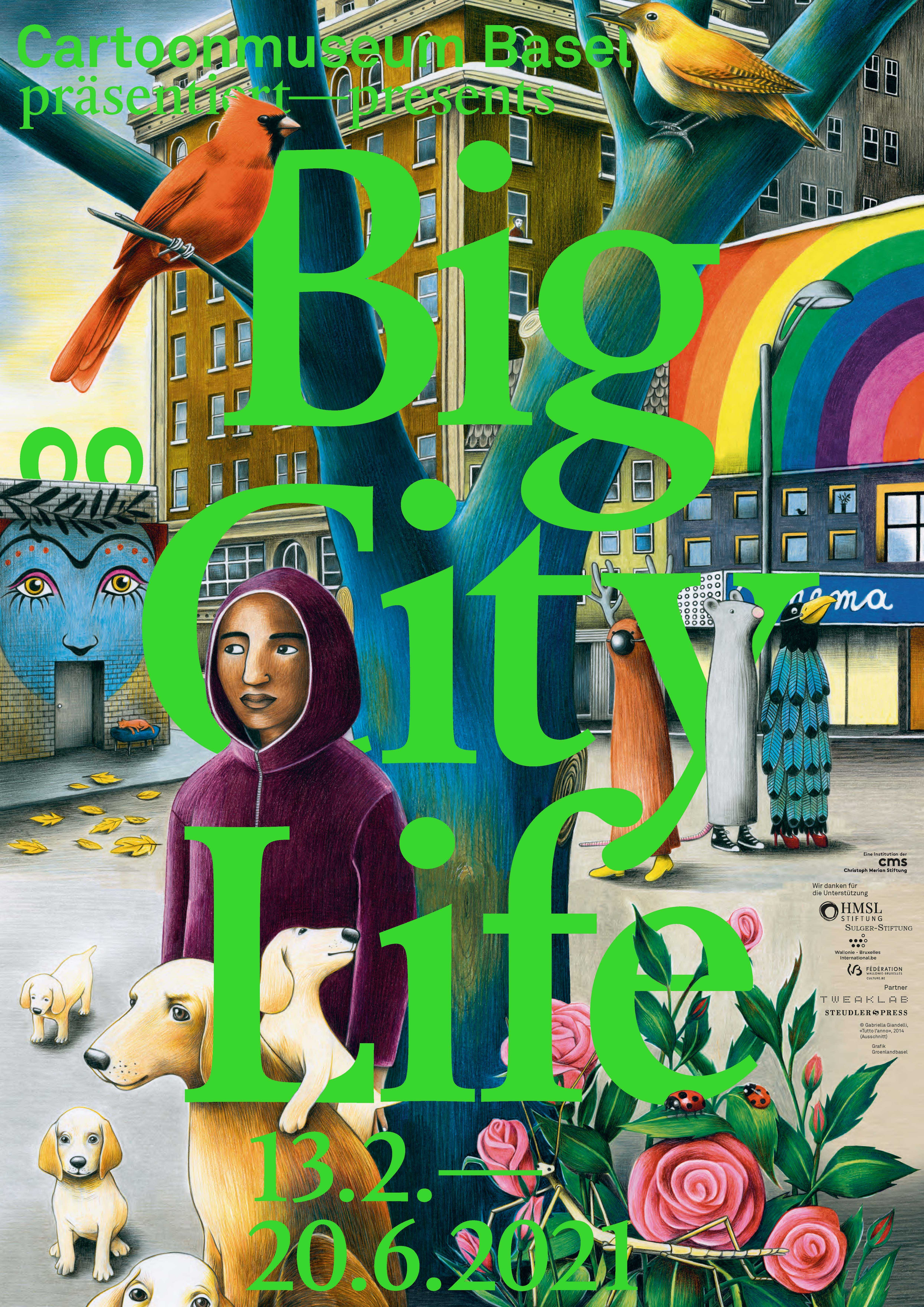 0 Big City Life Plakat