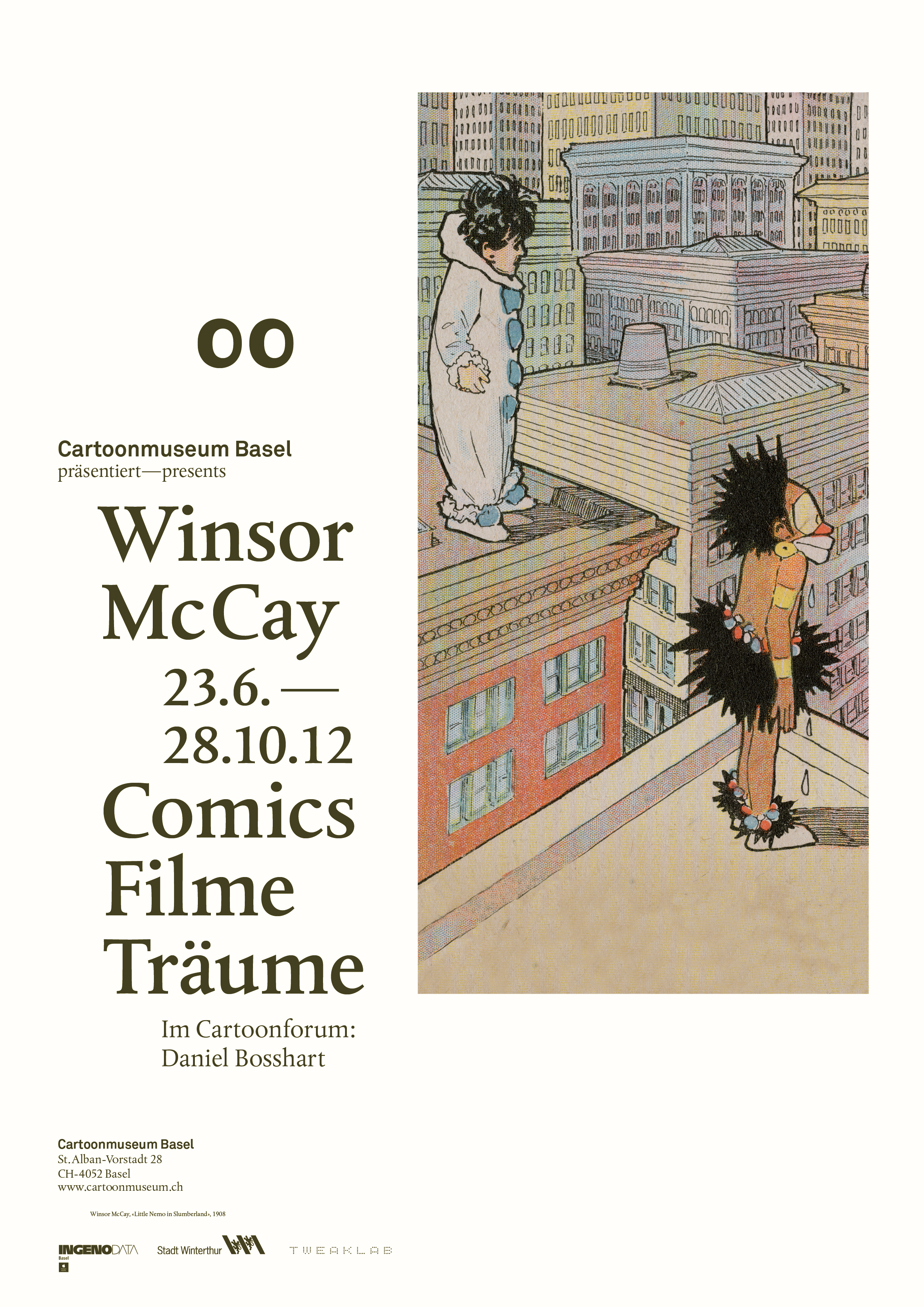 160203 Cartoon Alle Plakate Winsor McCay A410