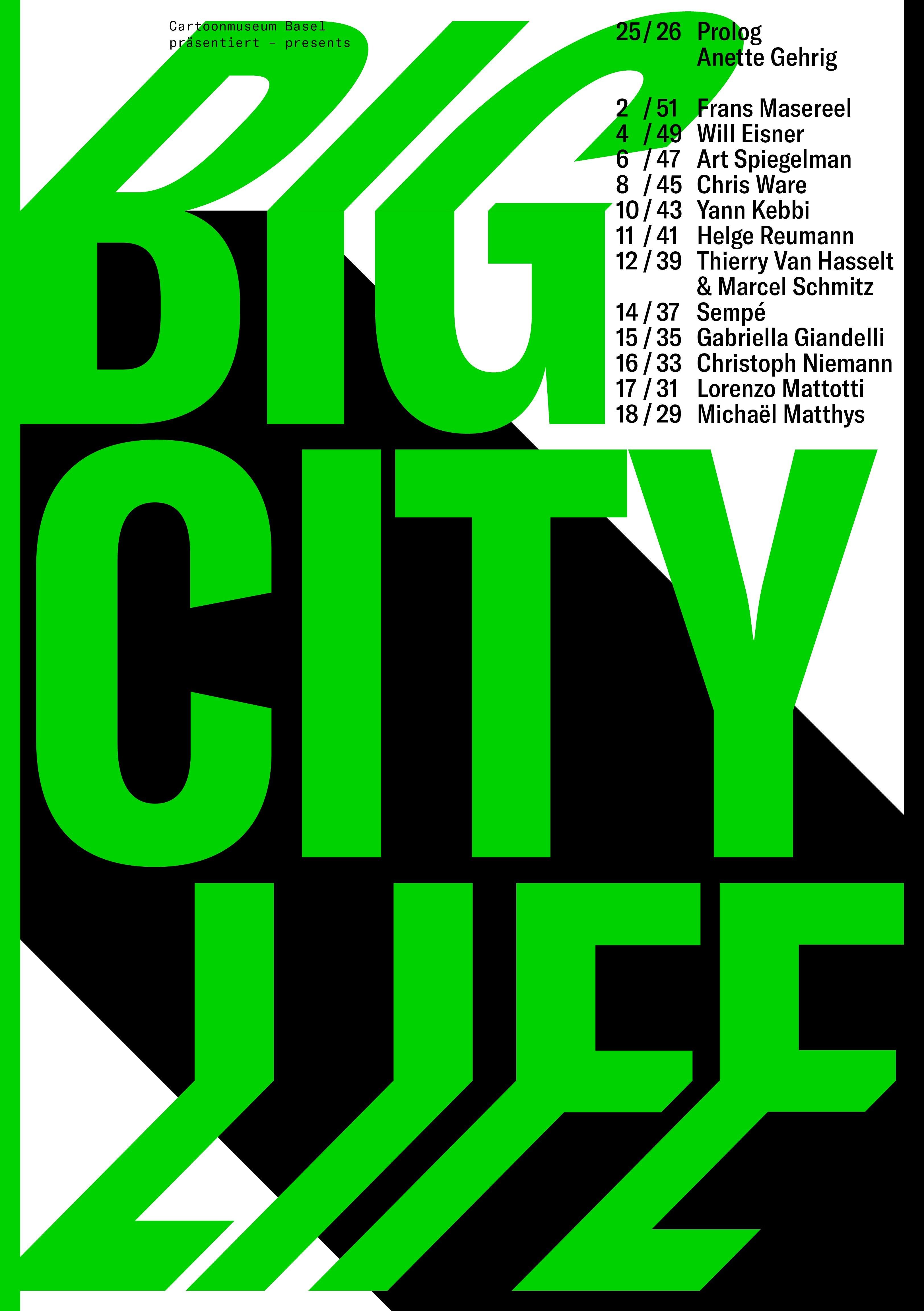 Bild 20210204 Cover Magazin Zur Ausstellung Big City Life Presse Amu