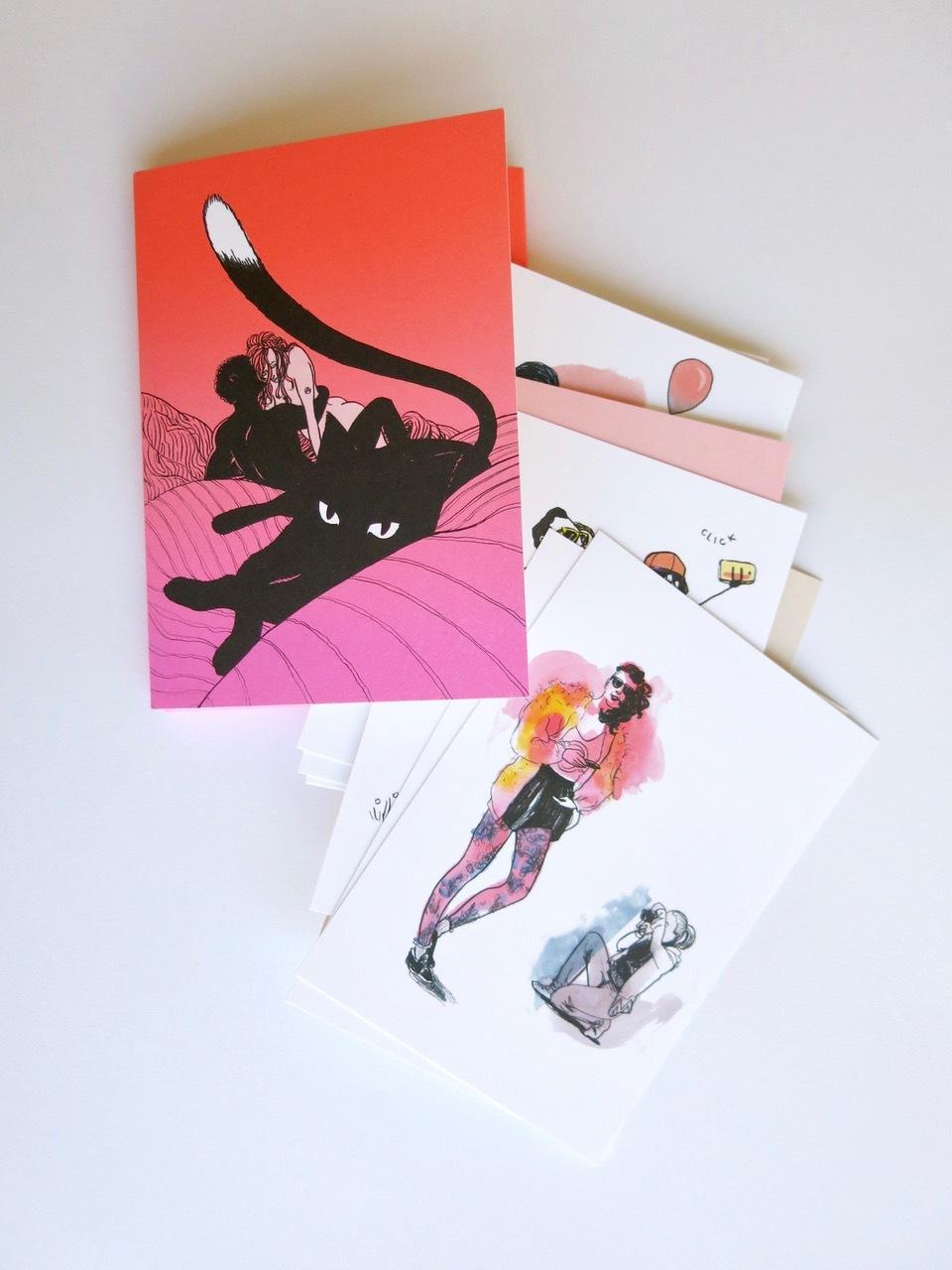 Lust Postkartenset Web
