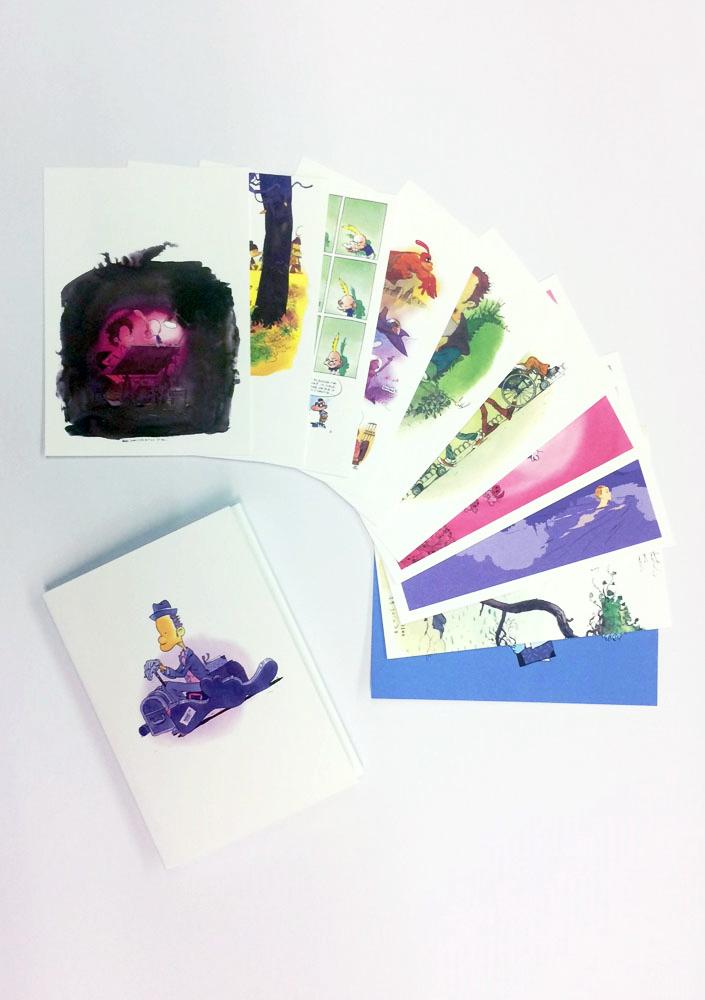 Postkartenset Zep Web